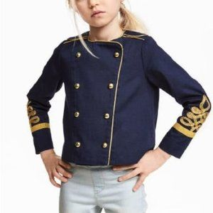 H&M Blue Band Jacket NWT
